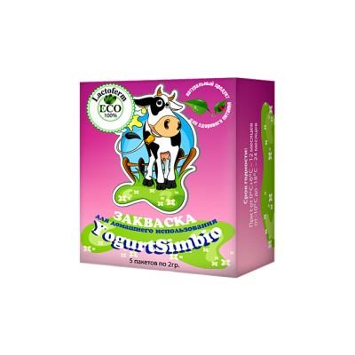 Купить закваска YogurtSimbio Lactoferm ECO по низкой цене