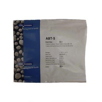 Купить закваску для йогурта с пробиотиками ABT-5 50U по низкой цене